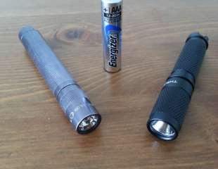Maglite Solitaire VS Thrunite Ti3 : Retex